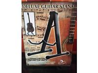New Deluxe Guitar Stand - unwanted gift