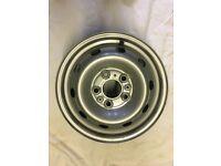 """15"""" Fiat Ducato Motorhome 2006 - 2016 spare steel wheel"""