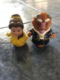 Disney Little People - Belle and Beast