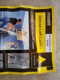 Deluxe loft ladder