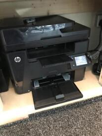 Hp laser jet printer mfp m225 dw multifunctional
