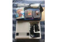 Boxed Nintendo NES with Super Mario 1, 2 & Donkey Kong Classic