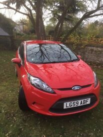 Ford Fiesta Style 1.25 3d 2009 (Red)