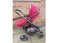 Mother care orb pram to pushchair
