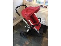 Quinny buzz rebel red pushchair stroller