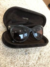 99fe113a7e7c GENUINE Tom Ford Sunglasses (with case) in great condition. Tortoise shell  colour with