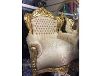 New French carved gold furnishings sale starts today
