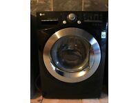 LG Black Washing Machine (model F12A8TDA6_BK)