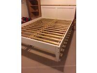 Wooden Bed Frame Slatted - King Size