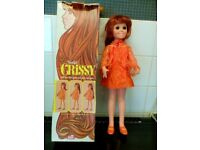 VINTAGE BEAUTIFUL CRISSY DOLL with hair that grows BY IDEAL 1968 Model 1061-1