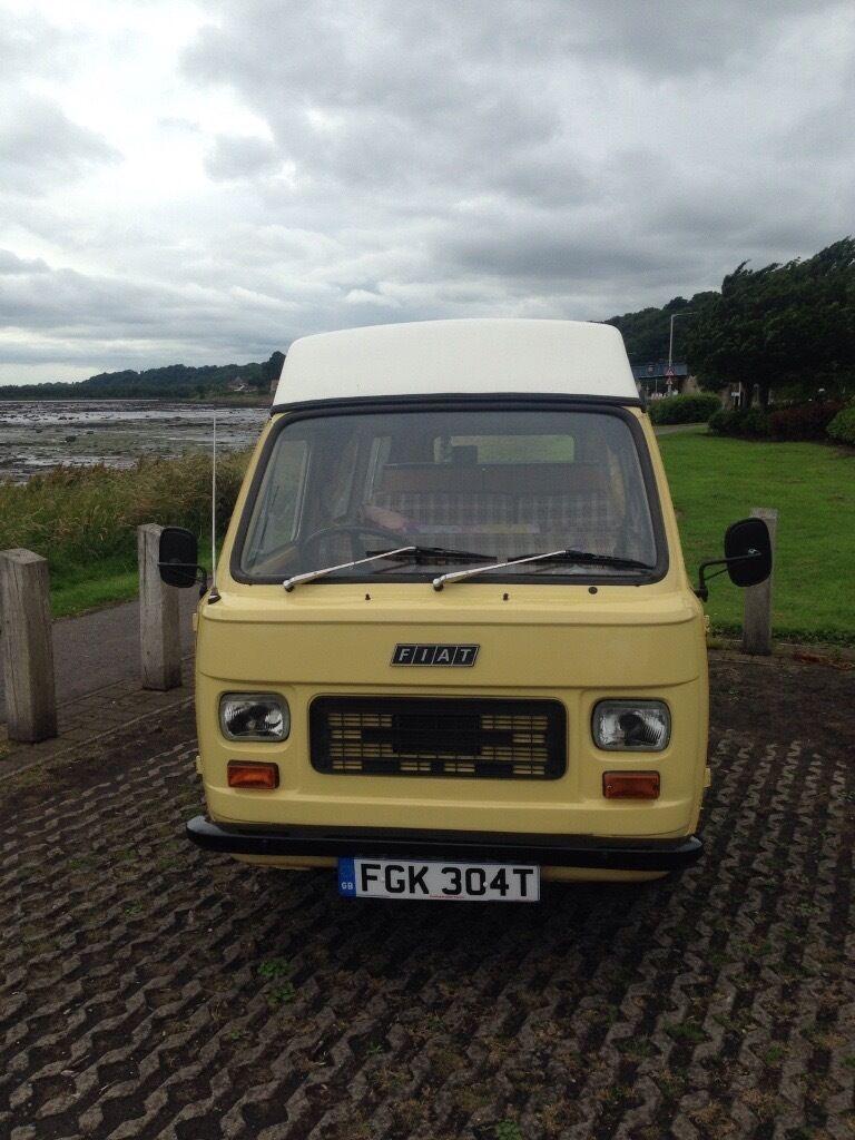 Rare Classic Campervan Fiat Amigo 1978 Similar To Vw In