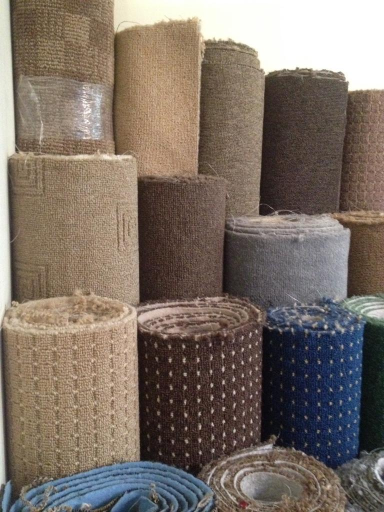 Carpet off cuts and remnants to clear, rug sizes available