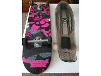 Penny Board, Skate Board, helmet and safety guards