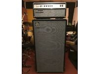 Ampeg SVT-AV Head (Made in USA) with matching 8x10 Cab