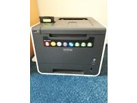 BROTHER HL-4140CN - IN WORKING ORDER WITH 2 FREE COLOUR TONER CARTRIDGES