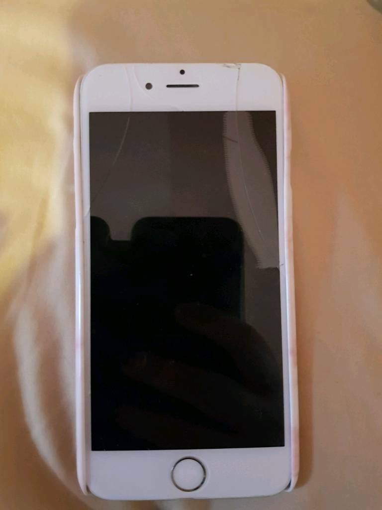 Apple IPhone 6 16GB Cracked Screen