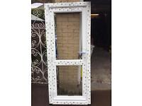 Double glazed UPVC door.