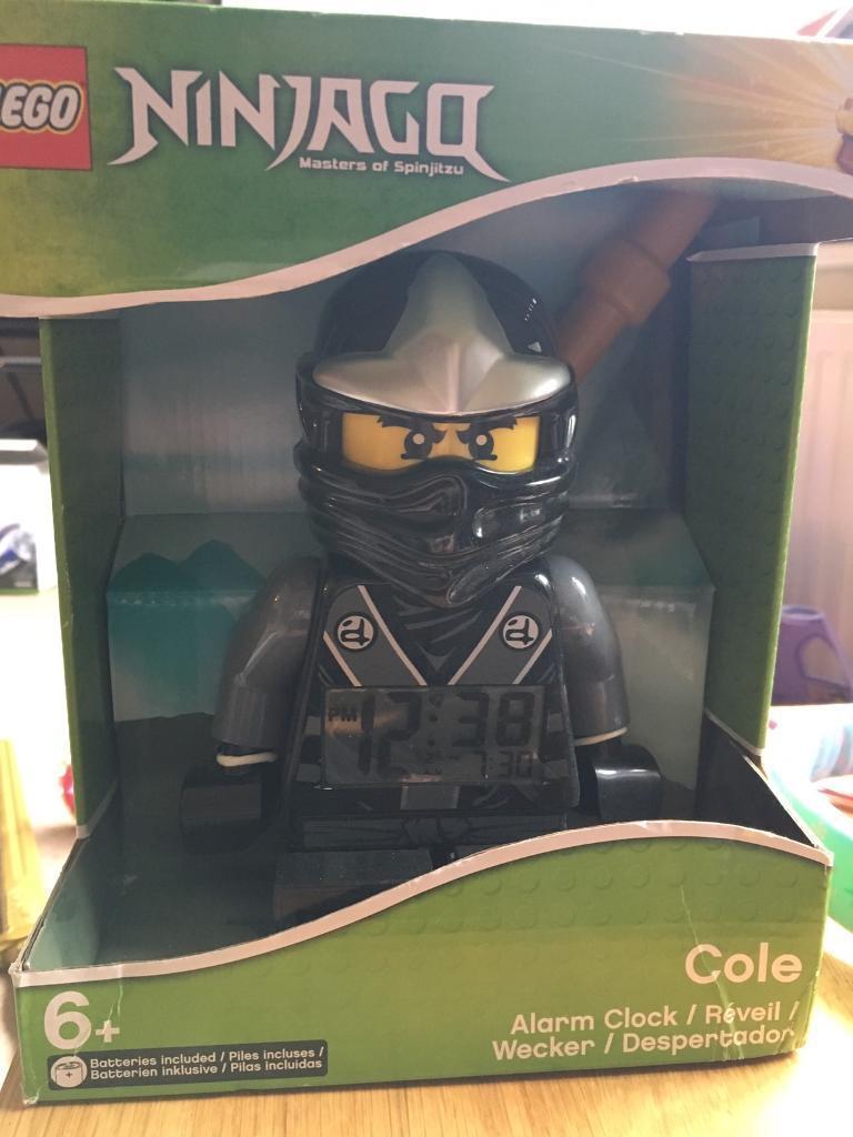 Lego Ninjago Cole alarm clock