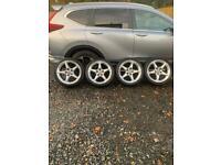 "Vauxhall Astra 18"" genuine alloys"