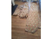 Curtains. Lined and William Morris style print