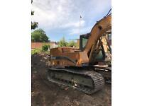 Case 13 ton excavator