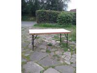 3 Wooden Tables (Garden or Car Boot) - Marston Green