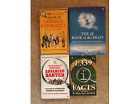 4 x QI books, based on the TV series.