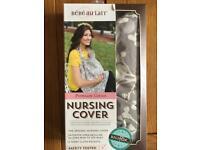 Bebe Au Lait Nest Bebe Nursing Cover - Breastfeeding New Hooter Hiders Blanket