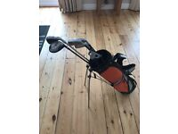 Hippo Junior Golf Set. Would suit age 5-9. Good condition buyer to collect.