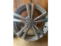 """Genuine Audi A3 sline 18"""" alloys"""