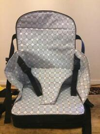 Portable booster seat high chair