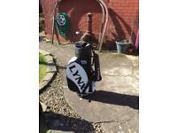 Lynx Colt Golf bag and 5 clubs