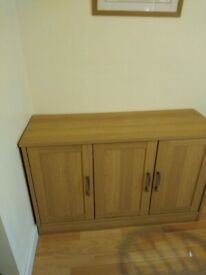 Sideboard and matching dresser