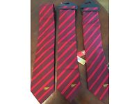 3 X Arsenal Ties (buy one or all)
