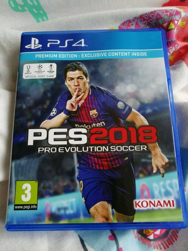 Pes 2018 Ps4 In Worcester Park London Gumtree Pc Dvd Rom Pro Evolution Soccer Premium Edition