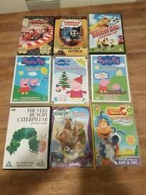 mixture of kids DVDs