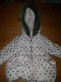 Lovely warm coat 6-9 months