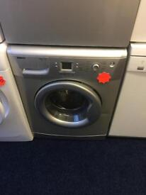 ***Silver Beko 7kg 1200spin washing machine***Free Delivery**Fitting**Removal