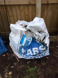 Ton rubble sacks wood sack