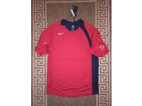 Nike Dri-Fit Total 90 Top T-shirt Red Size S