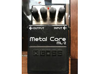 BOSS METAL CORE PEDAL GOOD CONDITION