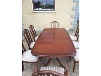 Solid Wood Classic Dining Table