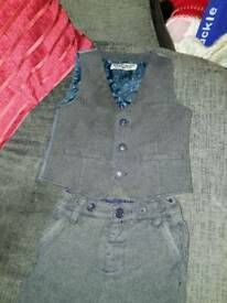 Next boys tweed suit. 12-18months