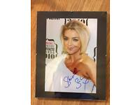 Sheridan Smith Frames/Signed Picture