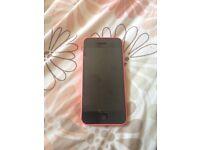 IPHONE 5C PINK £80 UNLOCKED