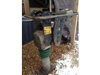 Wacker trench compactor