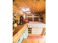 Ford Trasnit Campervan Conversion - Custom wood interior