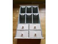 Lovely kitchen / pigeon hole storage unit by Gisela Graham, London. £15