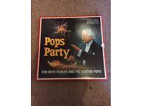 Pops Party - Fun with Fiedler and the Boston Pops - Vinyl Box Set Collection - Reader's Digest