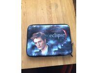 Twilight themed laptop sleeve